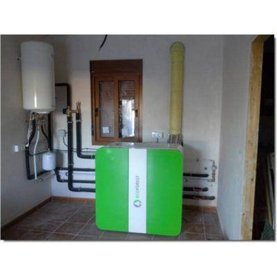 Repuesto junta manta del motor extractor estufa CANTINA NOVA 24 KW (Ecoforest)