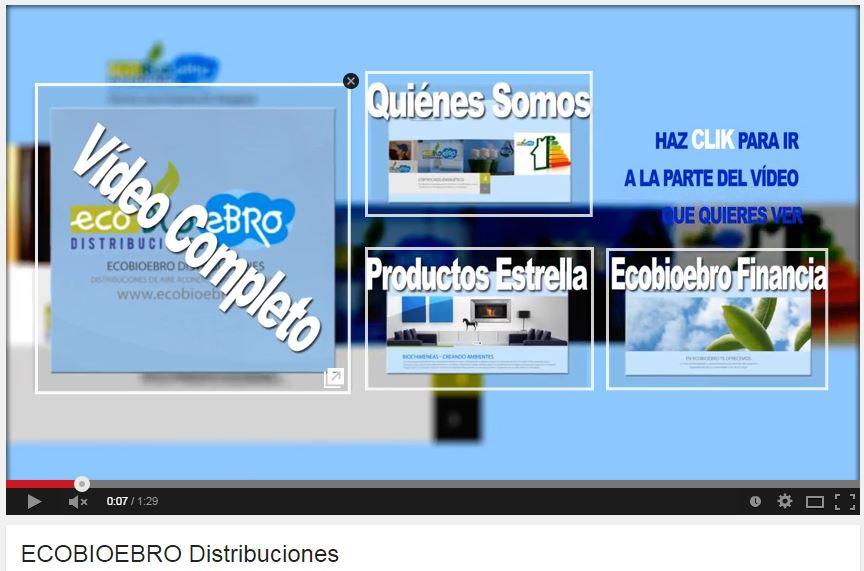 Vídeo promocional Ecobioebro Distribuciones