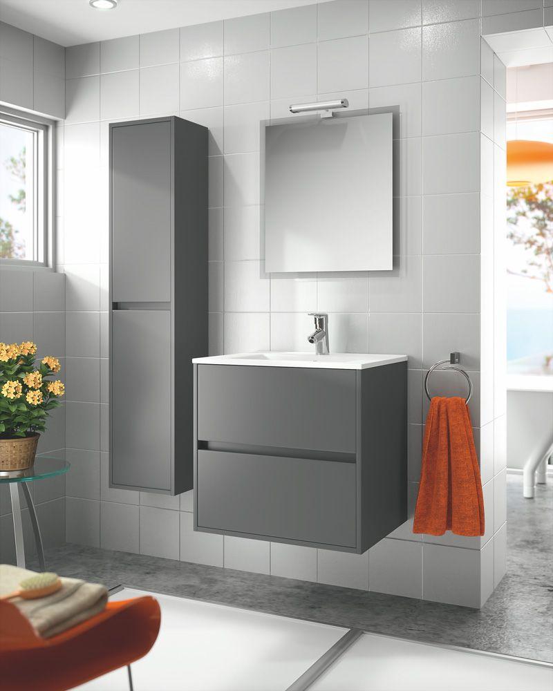 Mueble Baño Noja Gris:baños muebles baño muebles salgar mueble de baño noja 600
