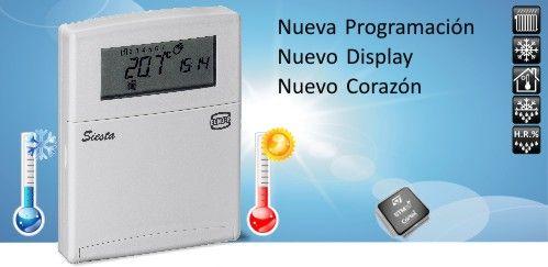 termostato siesta CRX RD - ecobioebro