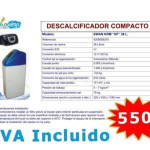 oferta-descalcificador-compacto-38L