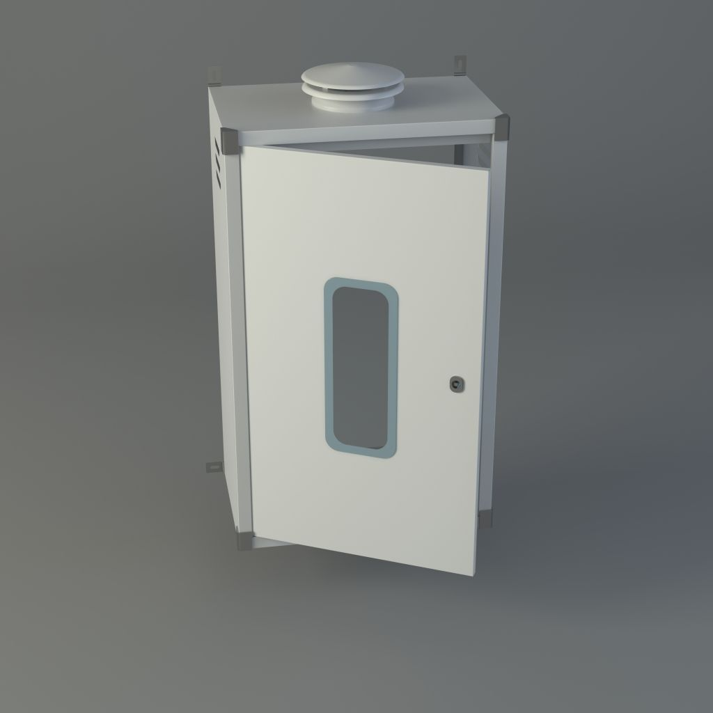 Armario cubre calderas estanca - Armario calentador gas exterior ...
