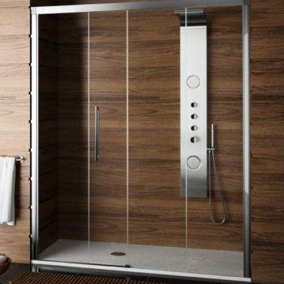 oferta baños descuento 25% mampara +plato de ducha