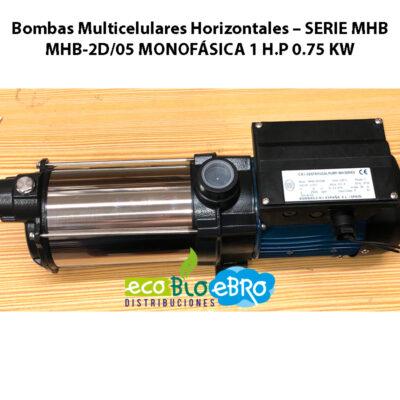 Bombas-Multicelulares-Horizontales-–-SERIE-MHB-2D05 MONOFASICA ECOBIOEBRO