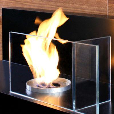 Cristal chimenea Ecobioebro