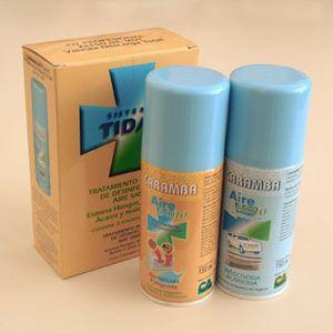 desinfectante para aire acondicionado