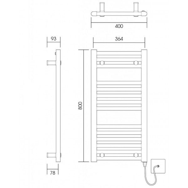 400-x-800-straight-chrome-heated-towel-rail-central-heating