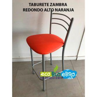TABURETE-ZAMBRAREDONDO-ALTO-NARANJA-ECOBIOEBRO