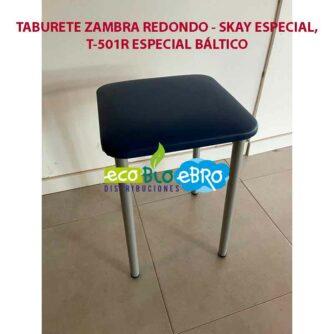 TABURETE-ZAMBRA-REDONDO---SKAY-ESPECIAL,-TABURETE-ESPECIAL-BALTICO-T501R ecobioebro
