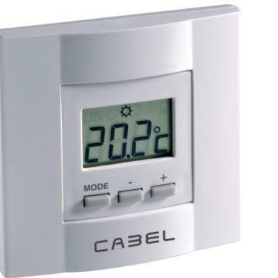 Termostato Ambiente Digital Cabel 1593