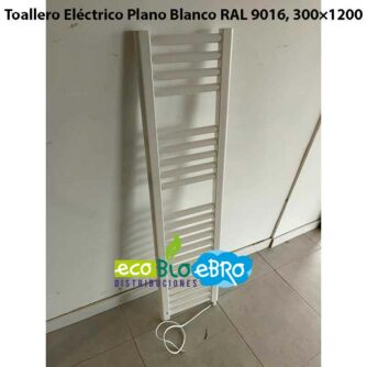 Toallero-Eléctrico-Plano-Blanco-RAL-9016,-300×1200-solo-cable-ecobioebro