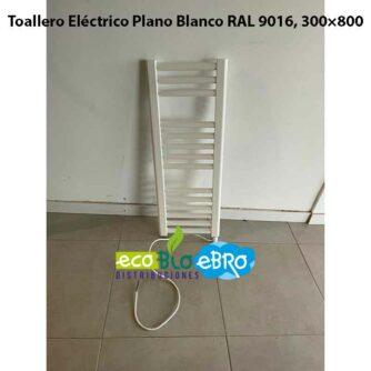 Toallero-Eléctrico-Plano-Blanco-RAL-9016,-300×800-solo-cable-ecobioebro
