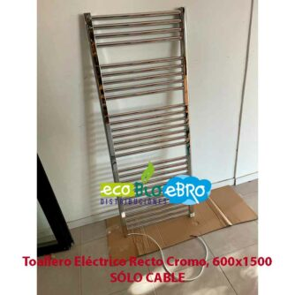 Toallero-Eléctrico-Recto-Cromo,-600x1500-solo-cable ecobioebro