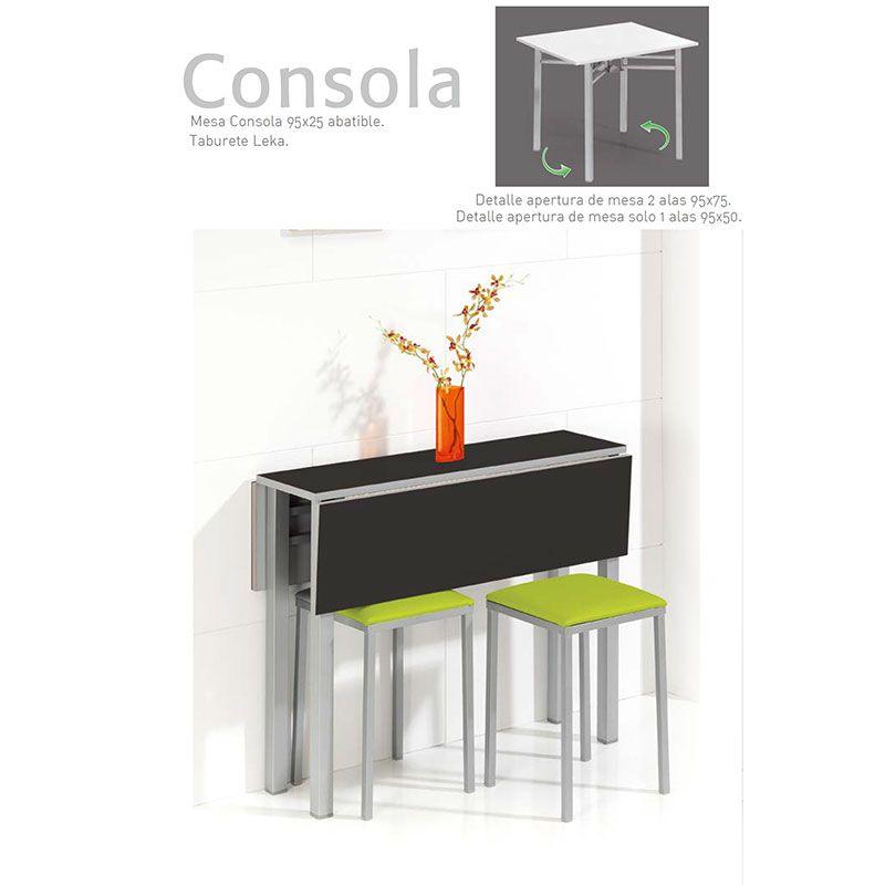 detalle-apertura-mesa-de-cocina-consola-ecobioebro