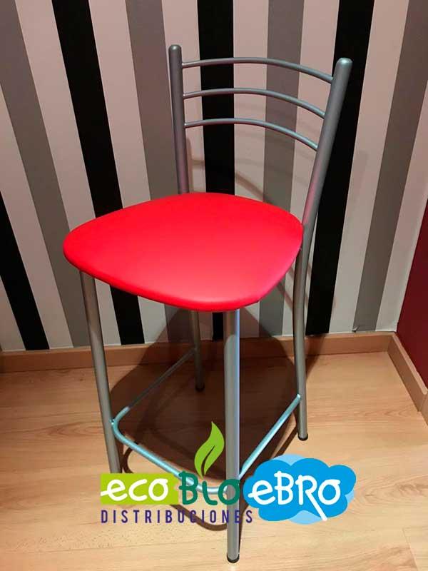 taburete-zambra-redondo-alto-skay-rojo-ecobioebro