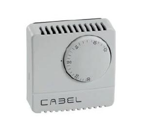 Termostato Ambiente Mecánico CABEL TA1