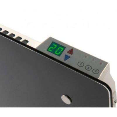 Radiador eléctrico Adax Clea Cristal 800 w 420 mm Altura
