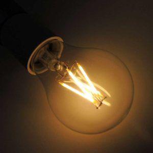 BOMBILLA LED A60 E27 6W (IMITACIÓN FILAMENTO)