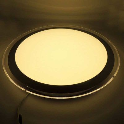 PLAFÓN DE SUPERFICIE CIRCULAR LED 22W