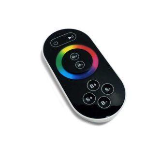 CONTROLADOR RGB CON MANDO RF 440W PARA TIRAS LED 230V