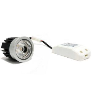 DICROICA LED DRIVER EXTERNO 6W DIMABLE, 60º
