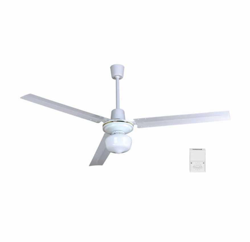 Ventilador techo c luz c mando ecobioebro for Oferta ventilador techo