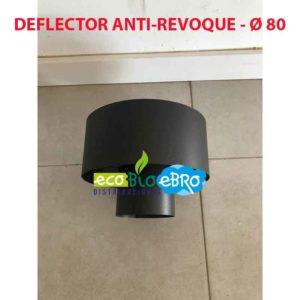 DEFLECTOR ANTI-REVOQUE - Ø 80 ecobioebro