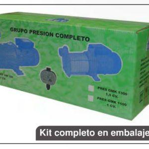 GRUPO DE PRESION AUTOMÁTICOS PRESGCM 25/140M