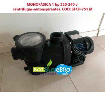 MONOFÁSICA 1 hp 220-240 v centrífugas-autoaspirantes. COD SFCP-751 M ecobioebro