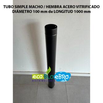TUBO-SIMPLE-MACHO---HEMBRA-ACERO-VITRIFICADO-diametro-100-mm-longitud-1000-mm-ecobioebro