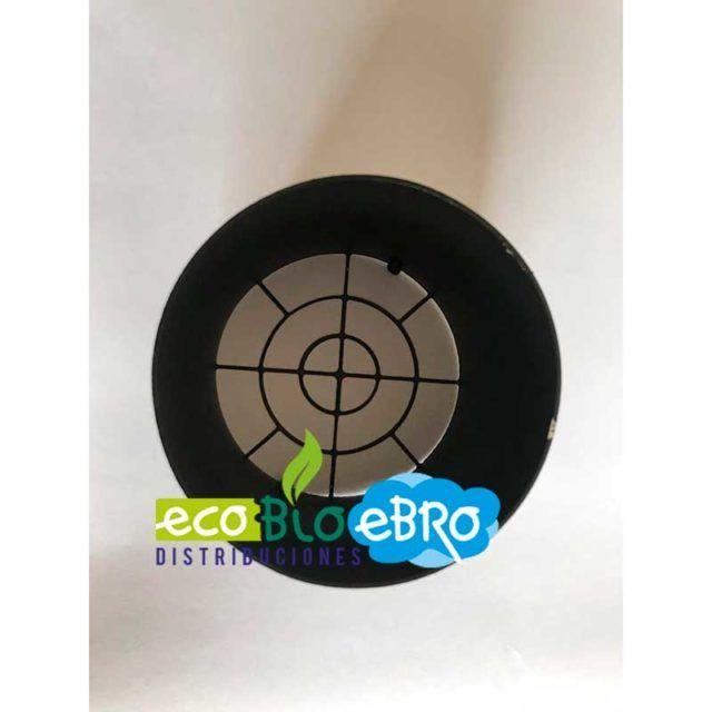 deflector-horizontal-inox-316-cañon-pintado-negro-ecobioebro