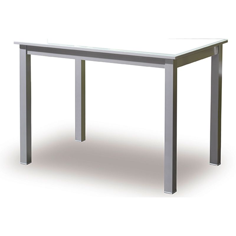 incremento estructura mesas rectangulares en cromo