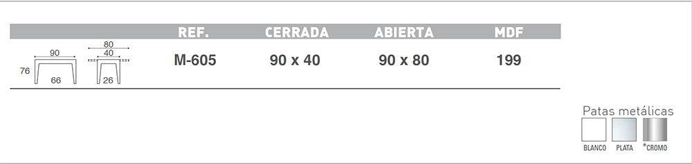 MESAS DE COCINA MESA GALA LIBRO - Ecobioebro