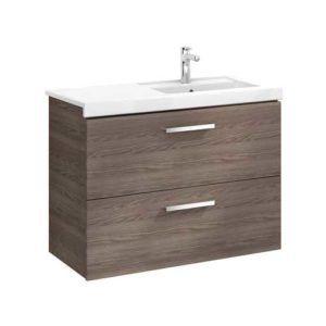 PACK Mueble de Baño Prisma 900 Fresno (lavabo derecha)