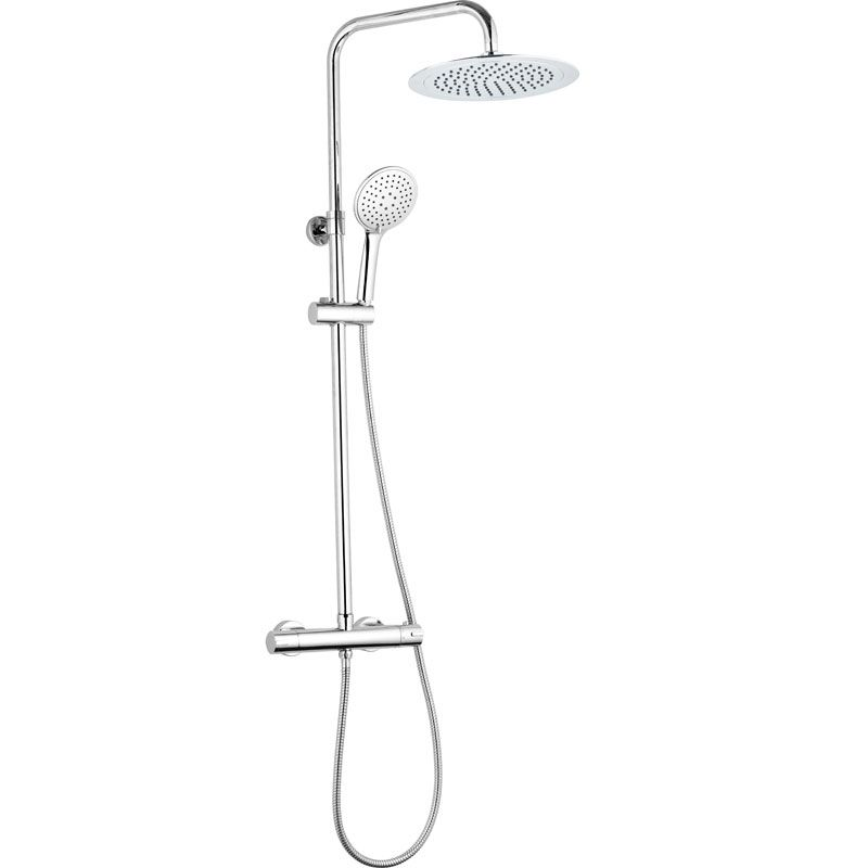 Columna de ducha termost tica ainsa ecobioebro - Columnas de ducha termostaticas ...