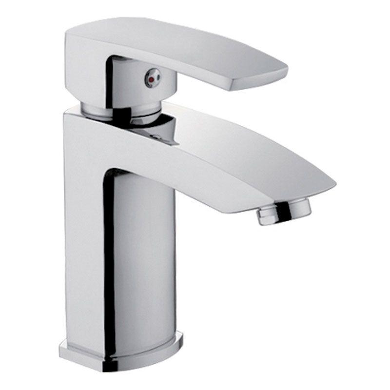 Monomando lavabo cromo serie cinca ecobioebro for Grifo lavabo