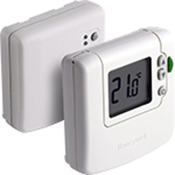 Termostato ambiente digital dt90 ecobioebro - Termostato digital inalambrico ...