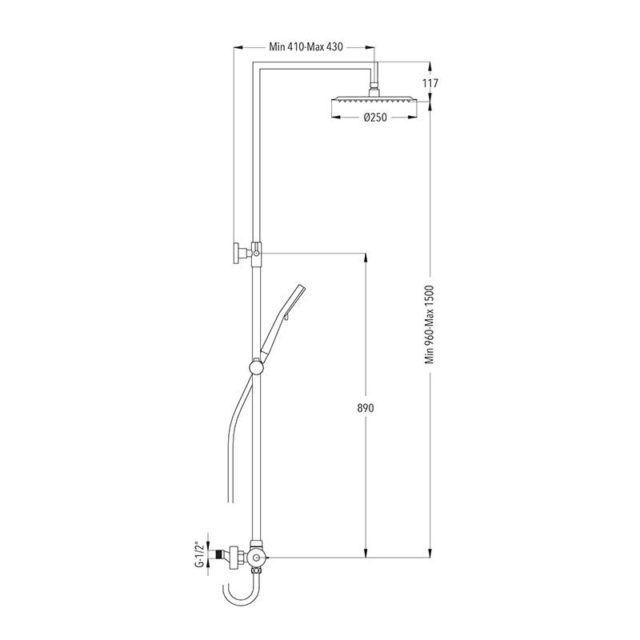 dimensiones-columna-serie-bielsa-ecobioebro