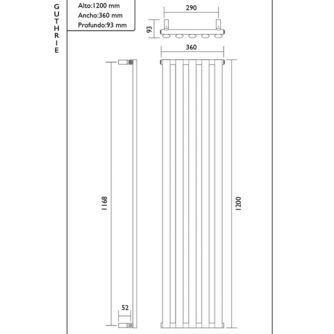 Dimensiones-toallero-diseño-Guthrie 1200x360-Ecobioebro