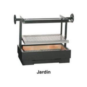 BARBACOA EN ACERO MOD. JARDÍN - Ecobioebro