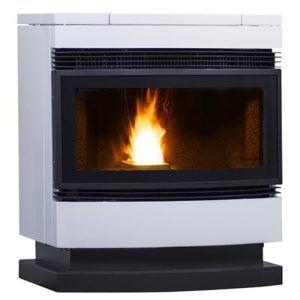 estufa de aire Eco III blanca