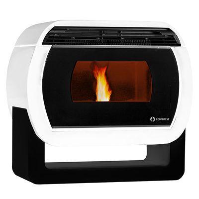 estufa de aire tokio blanca