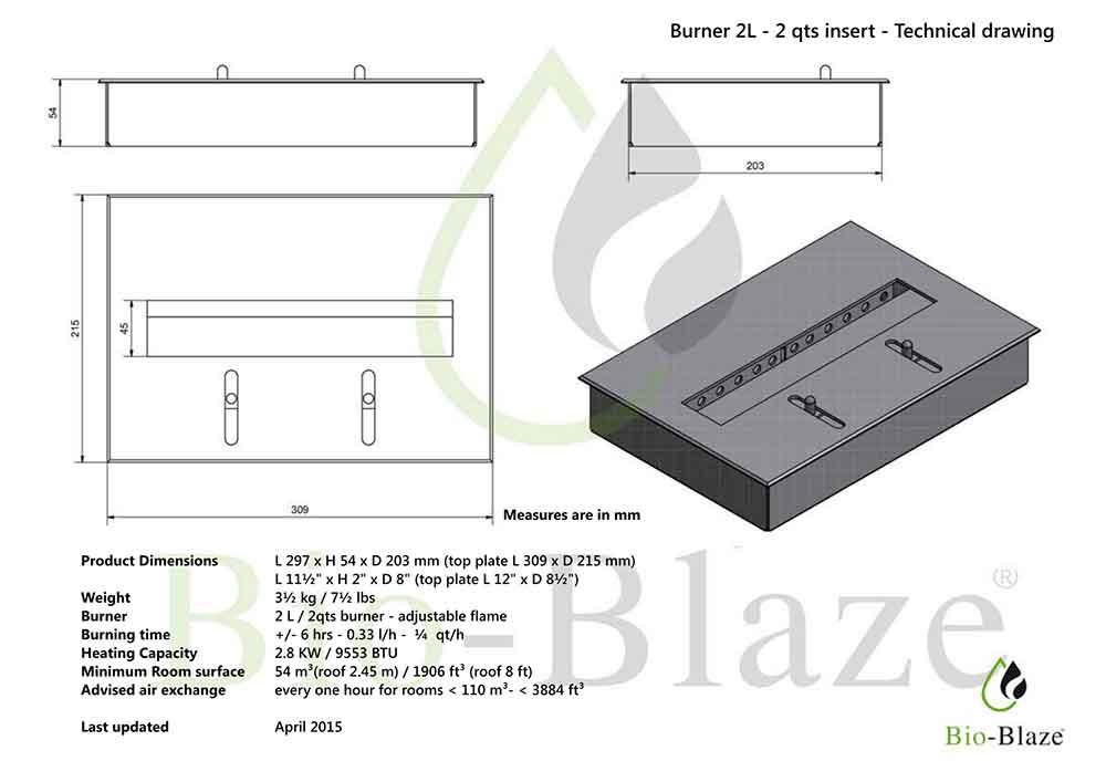 dimensiones-BIOCHIMENEA-QUEMADOR-INSERTABLE-2-L-(309-x-215)-mm ecobioebro