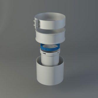 Adaptador-calderas-Ariston,-Vaillant,-baxi-Ecobioebro