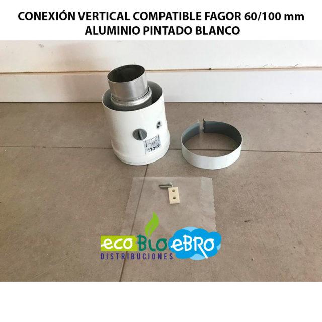 CONEXION VERTICAL COMPATIBLE FAGOR 60:100 mm ALUMINIO ECOBIOEBRO