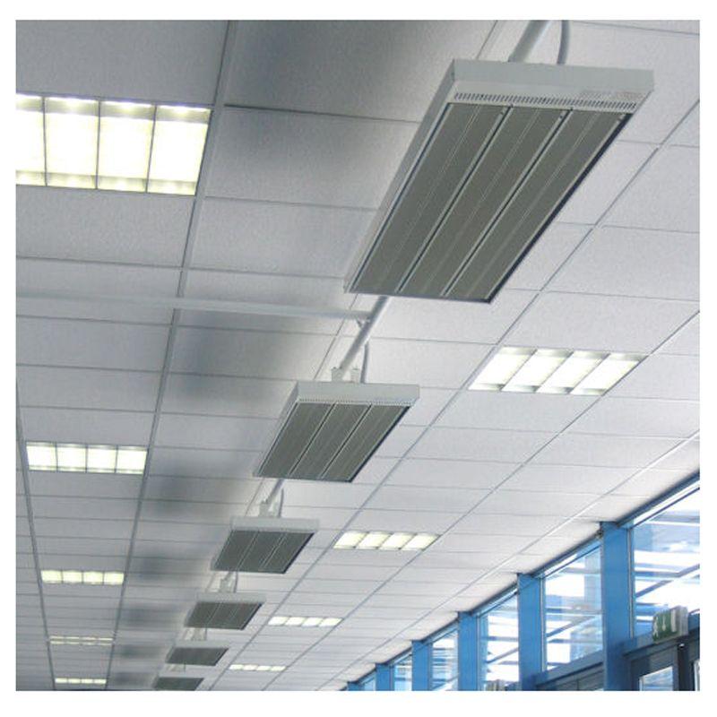 Calefactor radiante industrial energoinfra ecobioebro - Calefaccion radiante electrica ...