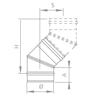 Plano-codo-45-simple-pared-inox-ecobioebro
