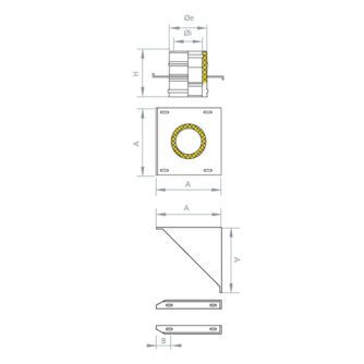 Plano-soporte-mural-base-inox-ecobioebro