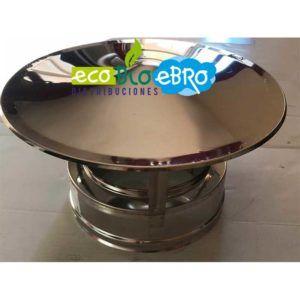 DEFLECTOR DOBLE PARED INOX 316 EXTERIORES