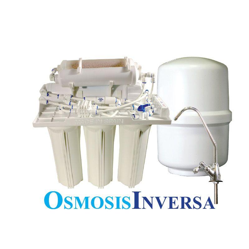 Equipo osmosis inversa 6 etapas aqua seis ecobioebro - Aparatos de osmosis ...